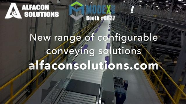 Alfacon Solutions opens the door to a new range of configurable conveying solutions