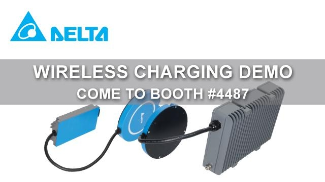 Wireless Charging demonstration with Don Nasca