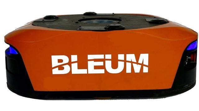 Bleum's Warehouse Robots In Action