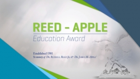 The MHEFI Reed-Apple Award Presented to Dr. Sunderesh Heragu
