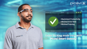Picavi Pick-by-Vision // Smart Picking with Smart Glasses