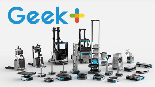 Geek+ Robotics - Leader in Warehouse and Factory Operations