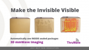 See INSIDE boxes & plastic totes with ThruWave 3D mmWave Imaging