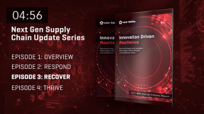 2021 MHI Next-Gen Supply Chain Update: Episode Three – Innovation-Driven Resilience – Recover Phase
