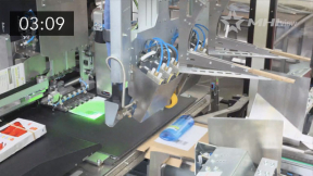 Optimizing packaging and labeling using new innovations in robotics