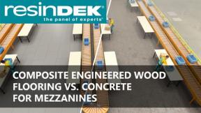 Sponsored Content: Engineered Wood Flooring vs. Concrete for Mezzanines