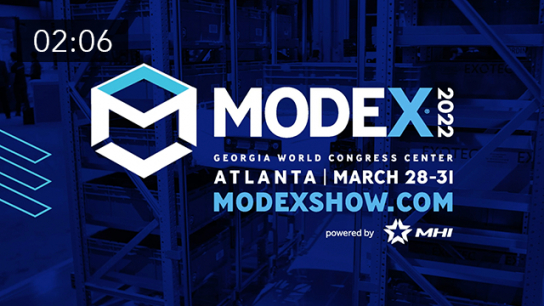 Learn, Connect and Buy at MODEX 2022
