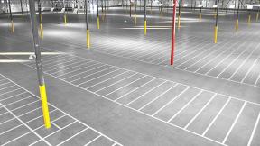 Warehouse Line Striping