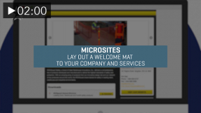 Microsites, the Search Engine for your Business