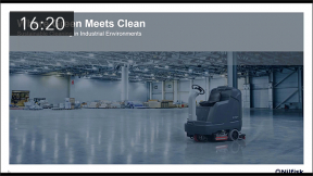 Sponsored Content: Where Green Meets Clean:  Sustainable Cleaning in Industrial Environments