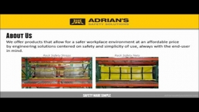 Adrian's Rack Safety Hardware Installation