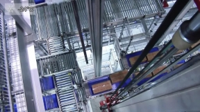 Fully Automated Picking In The Frozen Goods Warehouse