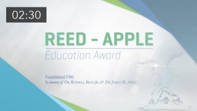 A Lifetime of Achievement: The Reed-Apple Education Industry Award 2017 Winner