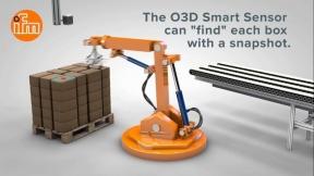 ifm O3D sensor de-palletizing