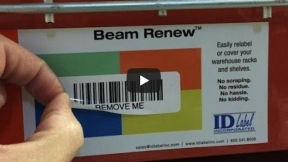 Beam Renew™ Label Cover-Up Solution