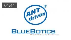 BlueBotics – ANT® driven