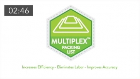 MultiPlex Enclosed Packing Lists