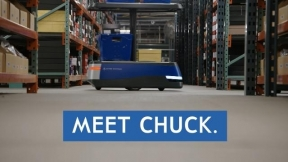 Meet Chuck - A robot who powers the warehouse of the future