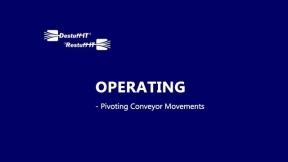 Destuff-IT Unique Pivoting Conveyor