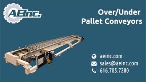 AEI Over Under Pallet Conveyors