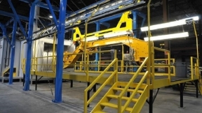 IntelliTrak 3500 Series Heavy-Duty Overhead Conveyor Demo