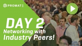 Day 2 at ProMat 2019: Networking with Peers from Across the Industry