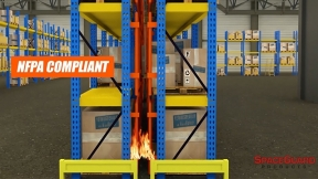 BeastWire Mesh Rack Safety: Prevent Industrial Accidents while complying with Fire Code