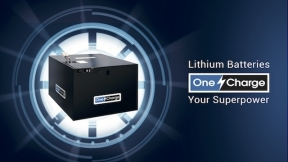 OneCharge Li-ion Batteries can fit nearly any lift truck make and model with over 450 part numbers.