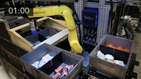 Goods to Robot Picking Featuring SuperPick by Soft Robotics