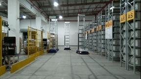 HAIPICK robots cooperate at SF DHL China warehouse