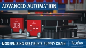 Best Buy Modernizes Supply Chain Network with Advanced Automation and Warehouse Robots