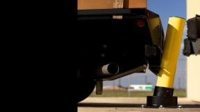 Slowstop Rebounding Steel Bollard System