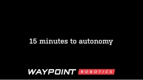 15 Minutes to Autonomous Navigation with Vector - Waypoint Robotics