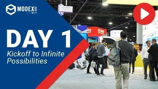 Day 1 at MODEX 2020: Kickoff to Infinite Possibilities