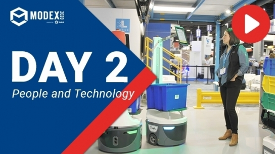 Day 2 at MODEX 2020: People and Technology