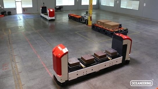 CompactMover™ Automated Guided Vehicles