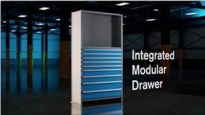 Metalware-Integrated Modular Drawers Demonstration