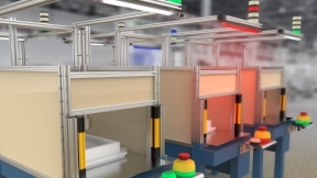 EZ-STATUS® Multicolor Lights for the Visual Factory
